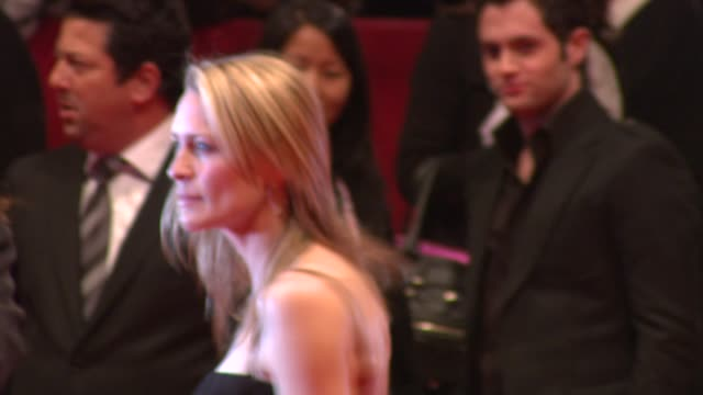 robin wright penn at the 59th berlin film festival the private lives of pippa lee premiere at berlin - robin wright stock videos and b-roll footage
