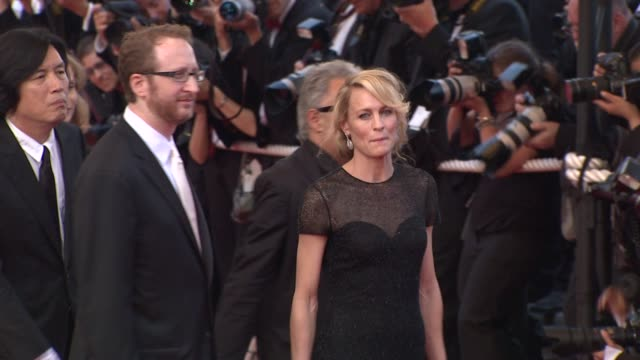 robin wright penn at the cannes film festival 2009 closing steps coco chanel igor stravinsky at cannes - robin wright stock videos and b-roll footage