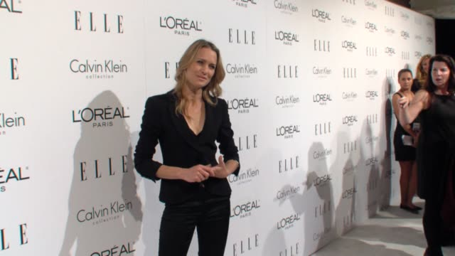 robin wright penn at the elle's 16th annual women in hollywood tribute at beverly hills ca - robin wright stock videos and b-roll footage