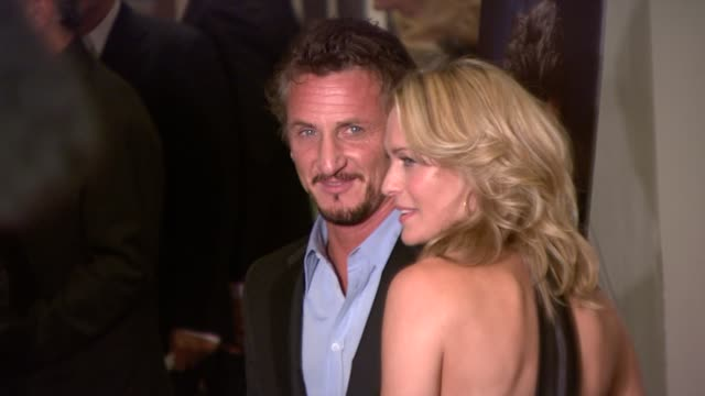 robin wright penn sean penn at the premiere of what just happened at new york ny - robin wright stock videos & royalty-free footage