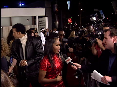 robinne lee at the 'deliver us from eva' premiere at the cinerama dome at arclight cinemas in hollywood, california on january 29, 2003. - arclight cinemas hollywood stock videos & royalty-free footage