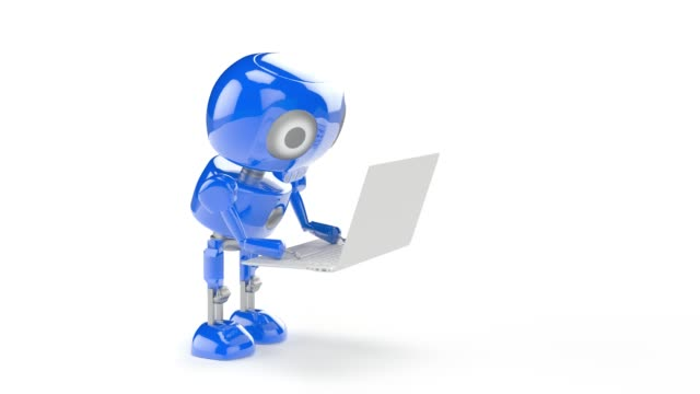 vídeos de stock e filmes b-roll de robot - personas