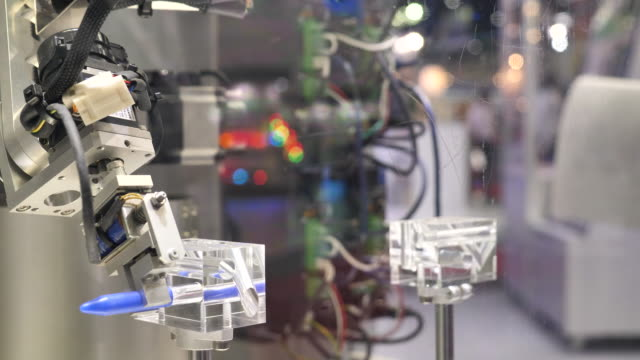 robotic arm - automatic stock videos & royalty-free footage