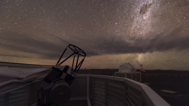 robotic telescope in action - observatory stock videos & royalty-free footage