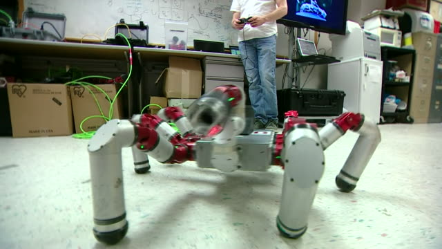 Robots being tested at a factory in Pennsylvania