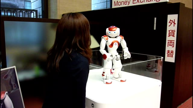 Robots will play yet another role in hightech Japan as a major bank announced introduction of a robot at the counter Bank of TokyoMitsubishi UFJ said...