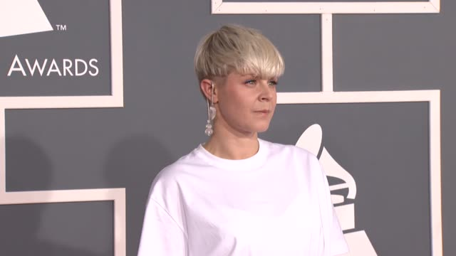 Robyn at 54th Annual GRAMMY Awards Arrivals on 2/12/12 in Los Angeles CA