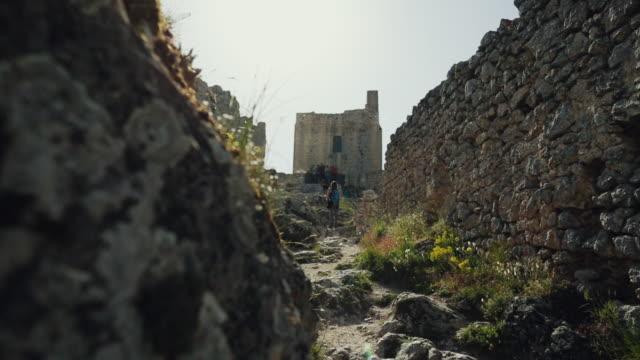 Rocca Calascio fortress ruins in Italy