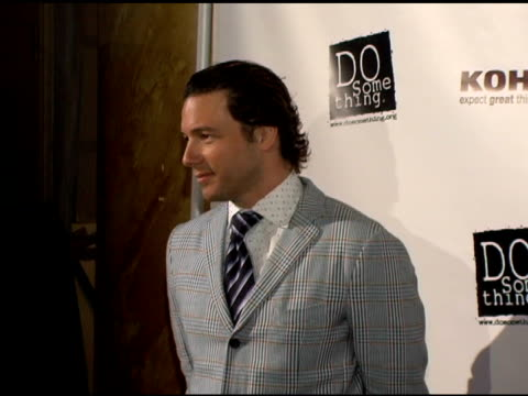 rocco dispirito at the 2006 brick awards from do something in celebration of young social entrepreneurs and celebrity and corporate philanthropists... - do something organization stock videos & royalty-free footage