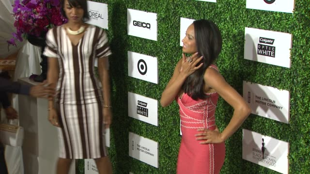 rochelle aytes at the 7th annual essence black women in hollywood luncheon at beverly hills hotel on february 27 2014 in beverly hills california - beverly hills hotel stock videos and b-roll footage