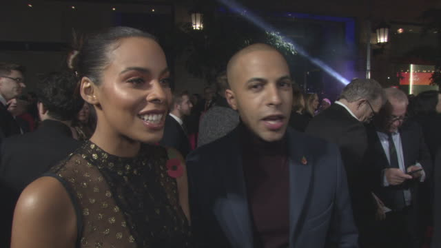 INTERVIEW Rochelle Humes Marvin Humes on being at the ITV Gala being excited to see Gemma Collins on Aston Merrygold's exit from Strictly Come...