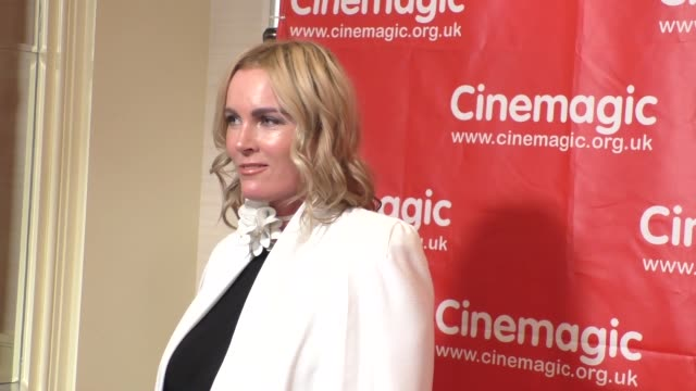 rochelle vincente von k at the cinemagic's los angeles showcase and sneak preview of delicate things at fairmont miramar hotel in santa monica in... - rochelle vincente von k stock videos & royalty-free footage