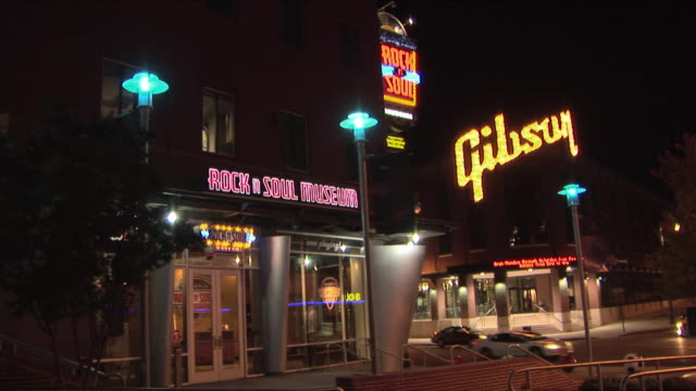 WS Rock and Soul Museum and Gibson factory, Memphis, Tennessee, USA