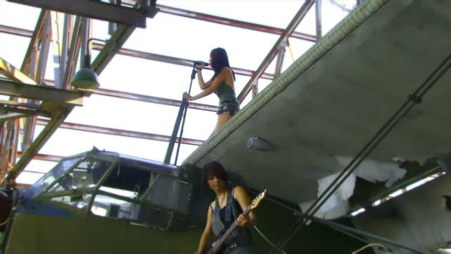 Rock Band Flugzeug