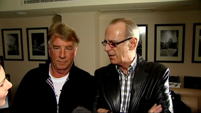 vidéos et rushes de rock band status quo launch documentary film 'hello quo' parfitt and rossi interview sot documentary will be interesting for fans / nice to have... - rock moderne