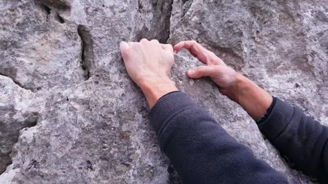 Rock Climber Close-up