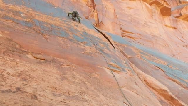 Rock Climbing in Moab Utah