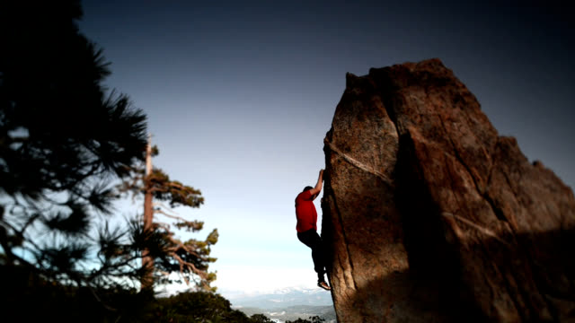 rock climbing - free climbing stock videos & royalty-free footage