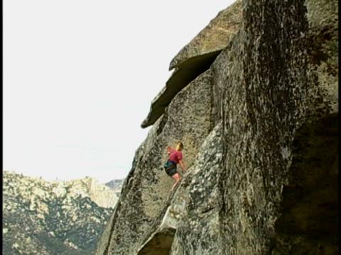 vidéos et rushes de rock climbing - escalade libre