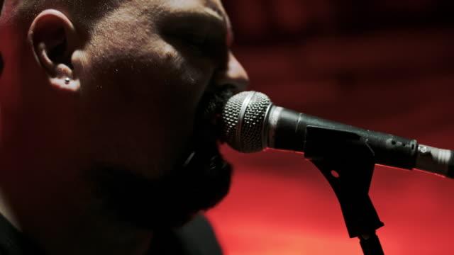 ms rock concert - heavy metal stock videos & royalty-free footage