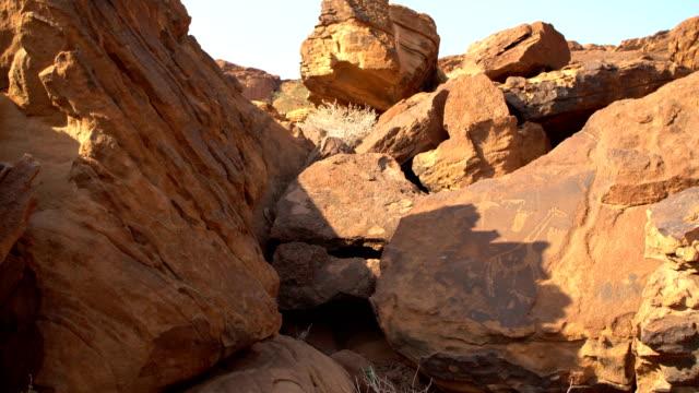 Rock engravings, UNESCO World Heritage Site, Twyfelfontein, Namibia