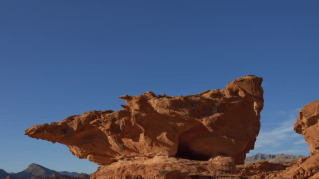 ms t/s rock formation against day to night  sky with clouds / page, arizona, united states - page arizona stock videos and b-roll footage