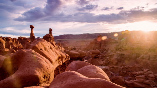 ds rock formations at the goblin valley - sandy utah stock videos and b-roll footage