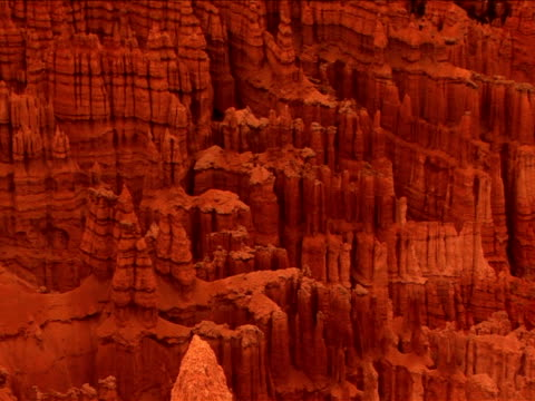 vídeos y material grabado en eventos de stock de ms, pan, rock formations, bryce canyon national park, utah, usa - arenisca