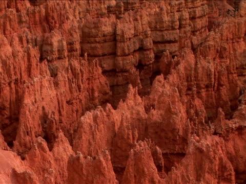 ms, zo, ws,  rock formations, bryce canyon national park, utah, usa - ムラがある点の映像素材/bロール