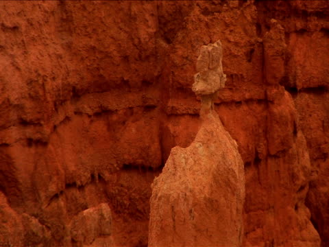 ms, zo, ha, rock formations, bryce canyon national park, utah, usa - ムラがある点の映像素材/bロール