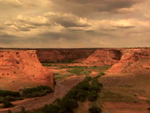 WS, ZI, Rock formations, Tunnel, Canyon del Muerto, Canyon de Chelly National Monument, Arizona, USA