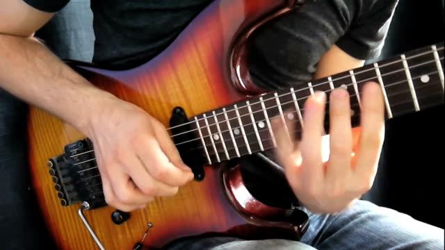 vidéos et rushes de solo guitare rock - rock moderne