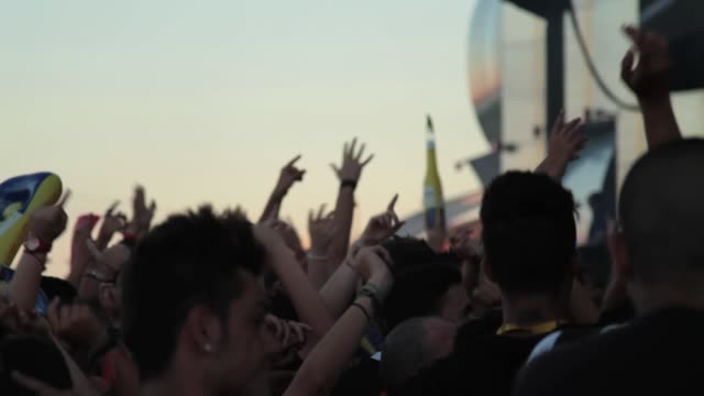 vidéos et rushes de rock in rio madrid day 2 on july 05, 2012 in arganda del rey, spain - rock moderne