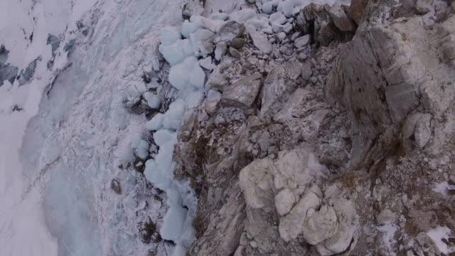 rock island on lake baikal. - remote location点の映像素材/bロール