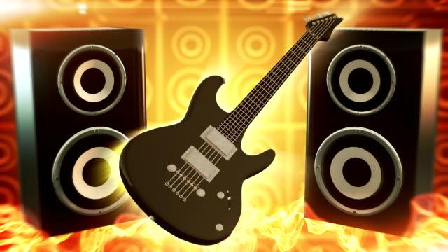 Música Rock (amarelo)-Loop