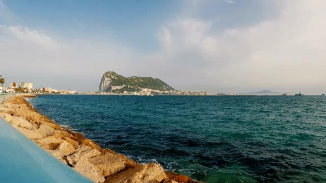 rock of gibraltar - gibraltar bildbanksvideor och videomaterial från bakom kulisserna