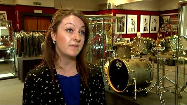 Rock pop and film history memorabilia sale at Bonhams Katherine Schofield interview SOT Auction in progress