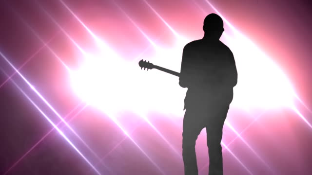 rock star concert. hd - rocking stock videos & royalty-free footage