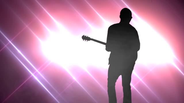stockvideo's en b-roll-footage met rock star concert. hd - moderne rock