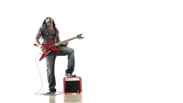 rock star - rastafarian stock videos & royalty-free footage