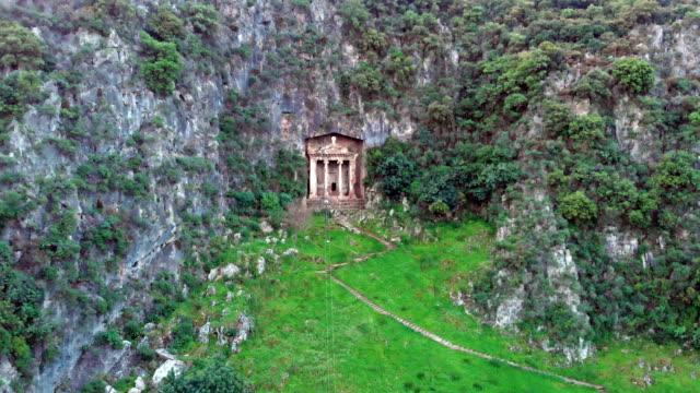vidéos et rushes de rock tombeaux de fethiye - temple