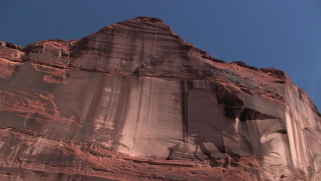 LA MS PAN rock wall/ Canyon de Chelly National Monument, Arizona