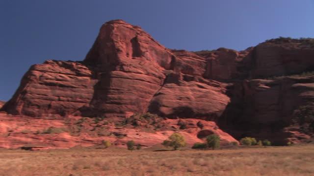 WS PAN rock walls/ Canyon de Chelly National Monument, Arizona