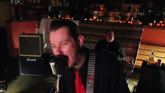 ms rockabilly band playing in bar restaurant / jacksonville beach, florida, united states - country and western stock videos & royalty-free footage