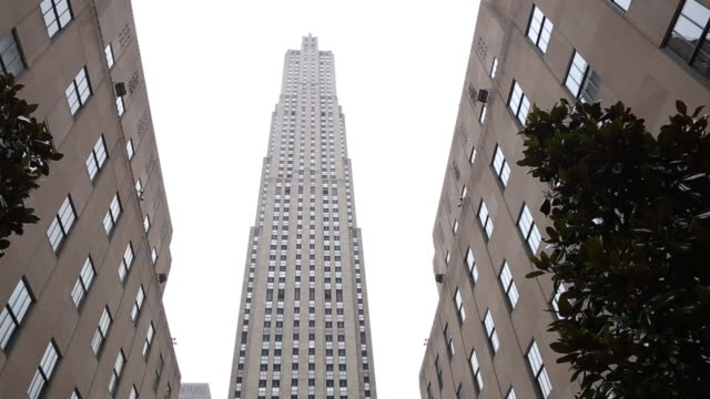 rockefeller center in new york on wednesday may 30 2018 - rockefeller centre stock videos & royalty-free footage