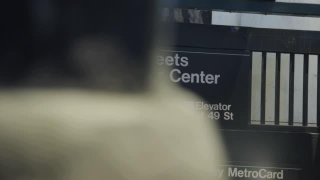 rockefeller subway station - subway station stock videos & royalty-free footage