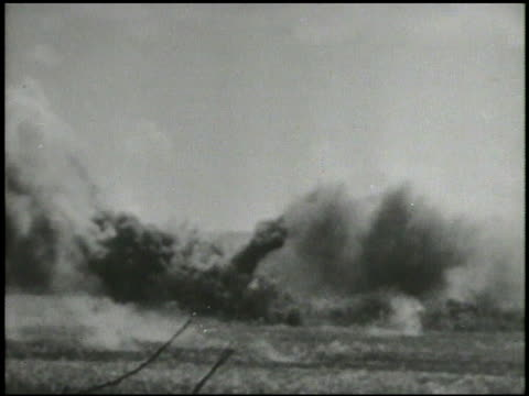 s rocket artilleries firing rockets heavy smoke amp explosions across field world war ii wwii pacific front mariana islands bombing multiple rocket... - saipan stock videos and b-roll footage