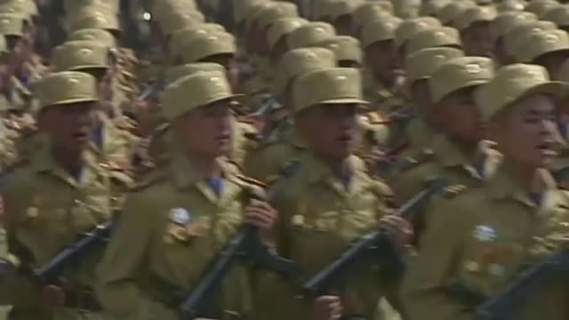 rocket launch condemned as violation of un ban on missile testing t27071311 / 2772013 north korean troops taking part in military parade legs of... - military parade stock videos & royalty-free footage