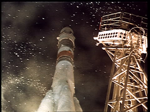 rocket launch. - former soviet union stock videos & royalty-free footage