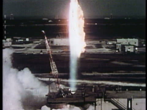 ws tu rocket launcher taking off / usa. - space exploration stock videos & royalty-free footage